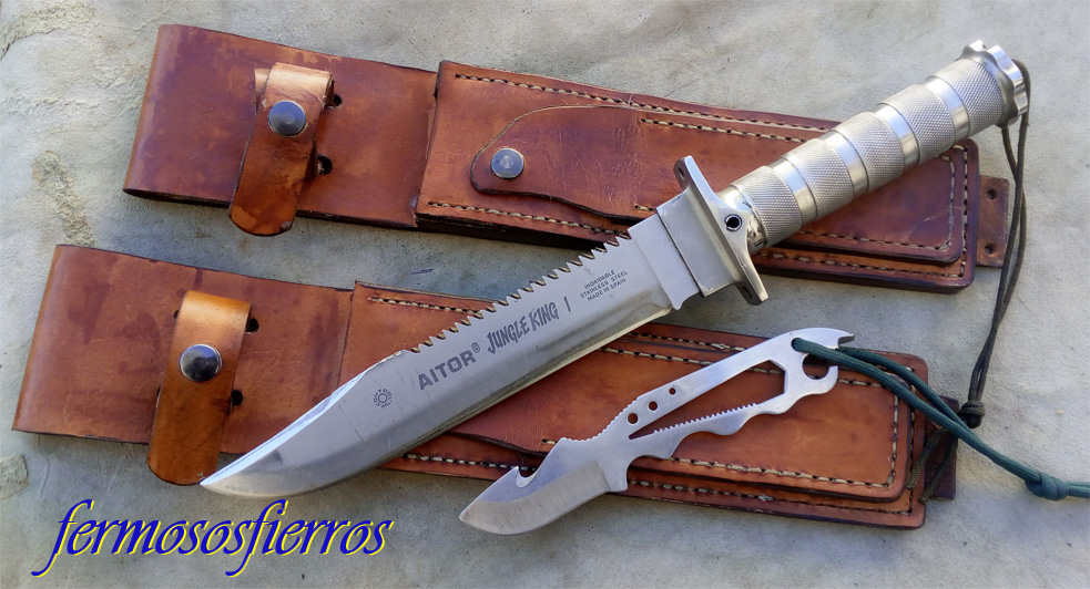 leather sheath jungle king I