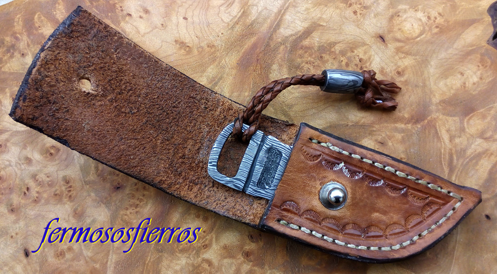 damascus steel claw fermosos fierros